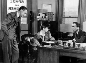 Maltese Falcon, The (1941) - Oficina de Sam Spade 02