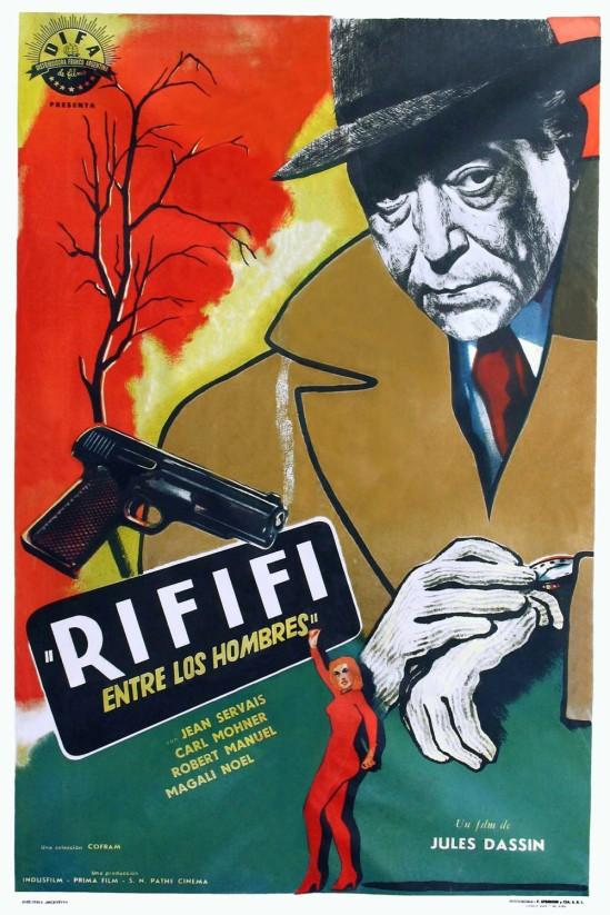 Du rififi chez les hommes (1955) - Poster 03