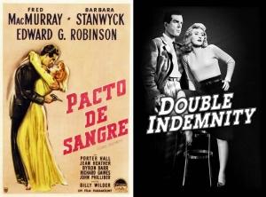 Pacto de Sangre - Double Indemnity