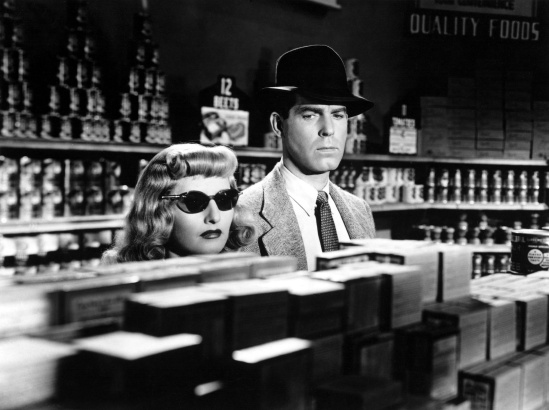 Barbara Stanwyck y Fred MacMurray
