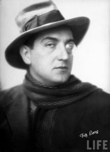 Fritz Lang, German film director