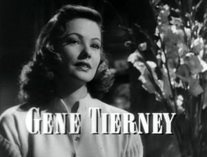 Laura - Créditos 01 - Gene Tierney