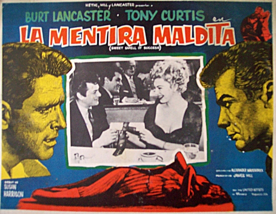 Sweet Smell of Success (1957) - LC 10 - México