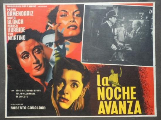 La noche avanza (1952), de Roberto Gavaldón - LC 501