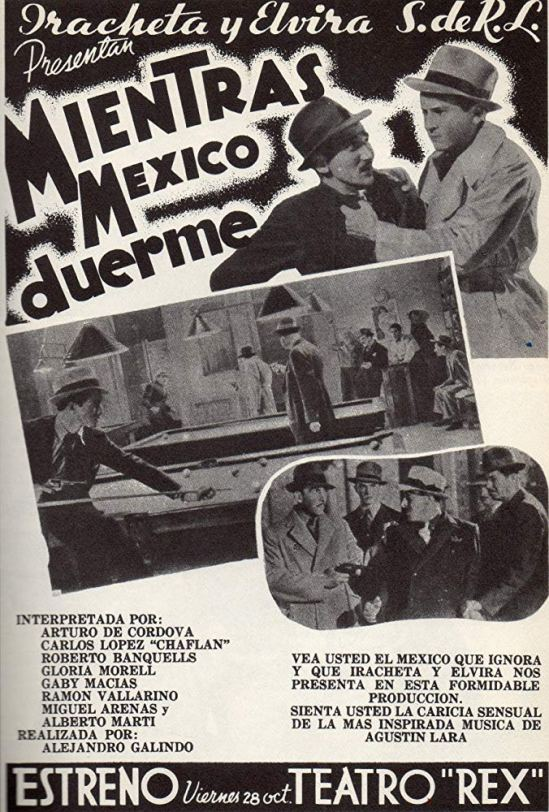 Mientras México duerme (1938) Po 102