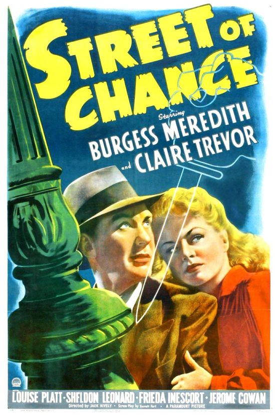 Street of Chance (1942) Po 101