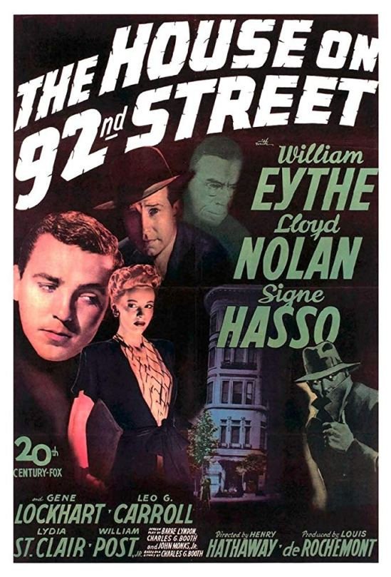 The House on 92nd Street (1945) Po 101