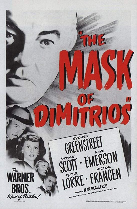 The Mask of Dimitrios (1944) Po 101
