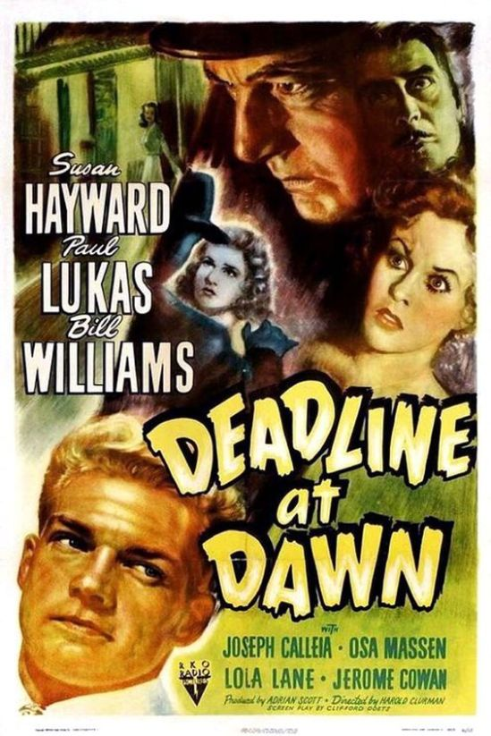 Deadline at Dawn (1946) Po 101