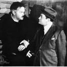 Edward G. Robinson y Orson Welles en The Stranger / El extraño (1946)
