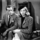 Humphrey Bogart y Lauren Bacall en The Big Sleep (1946) Still 105