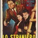 The Stranger (1946) - El extraño / Cartel italiano